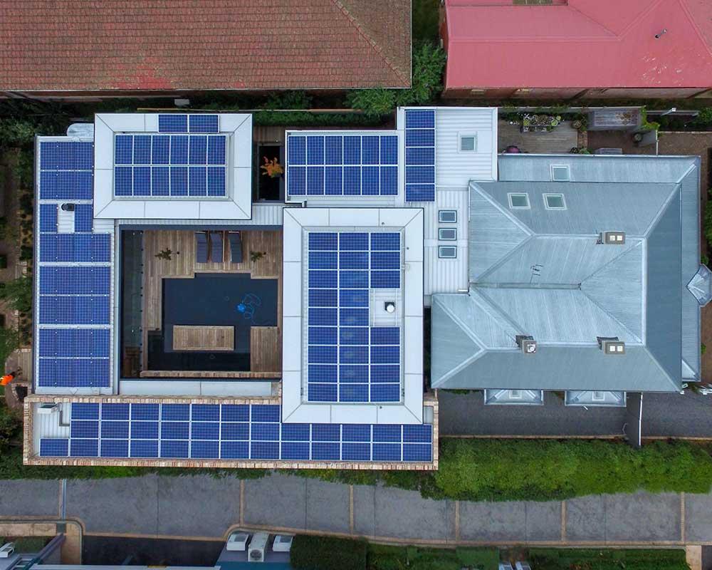 Highlands GeoExchange, Geothermal Energy, Solar PV